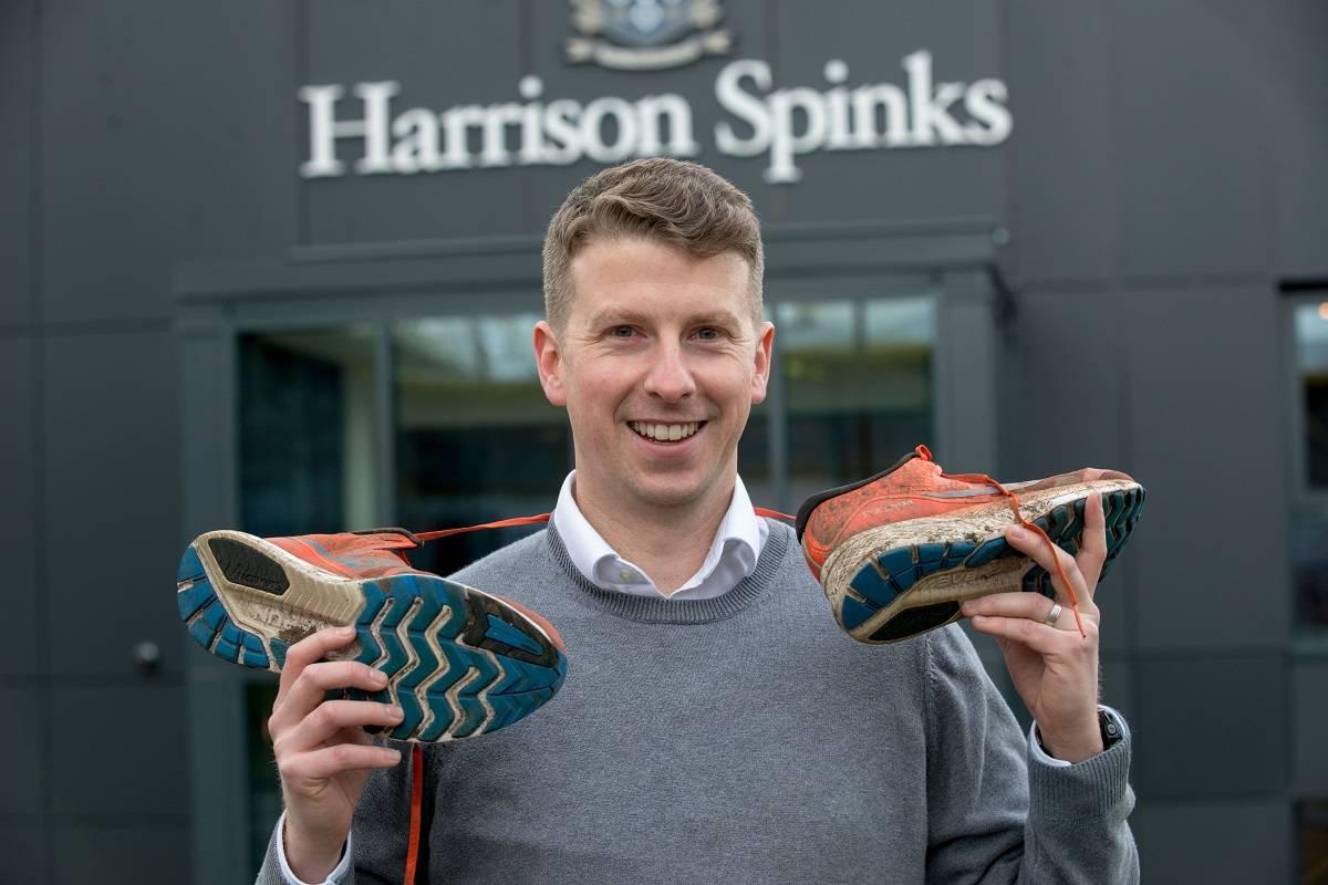 Ruairi Giles Harrison Spinks Marathon