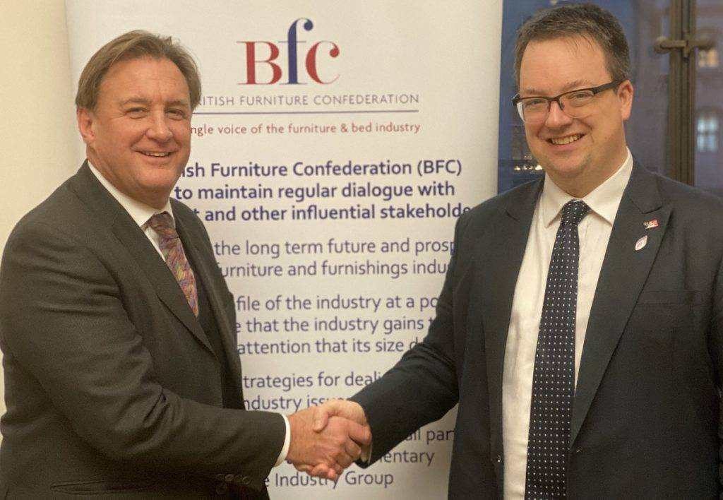 New chairman for the furniture industry's newly formed All Party Parliamentary Group