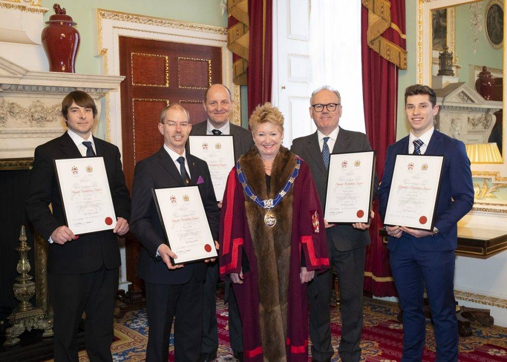 Six furniture makers honoured at Mansion House ceremony